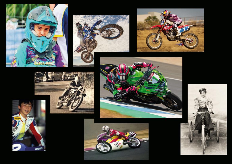 donne moto campionessa motocross enduro femminile